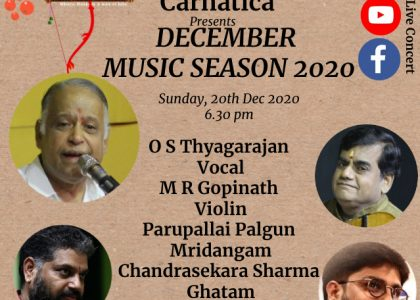 O S Thyagarajan Vocal